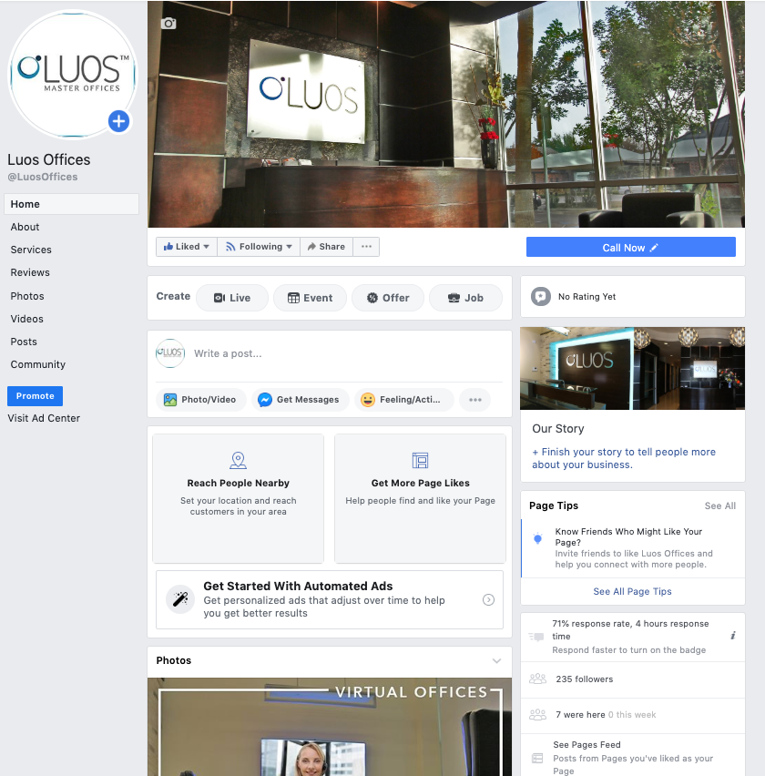Lsg Website Luos Offices Social