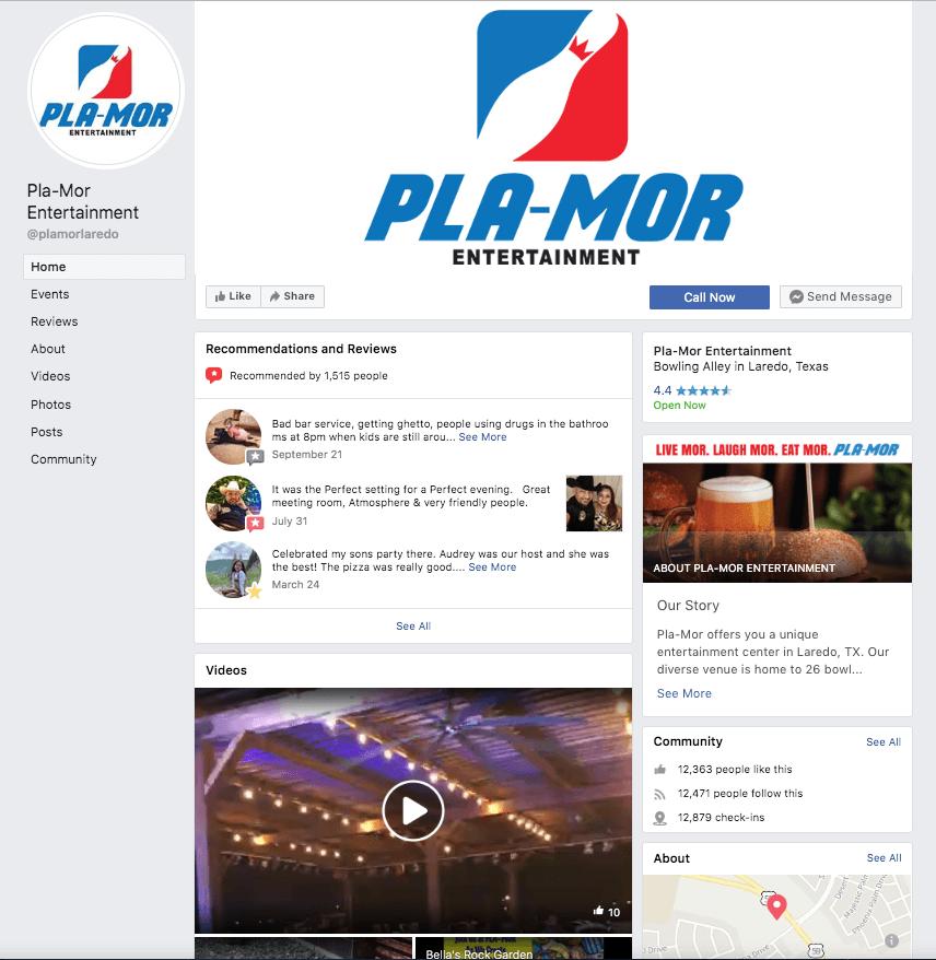PlaMor Social media