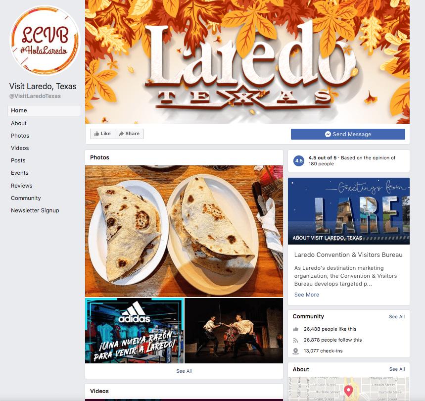 Visit Laredo Social Media