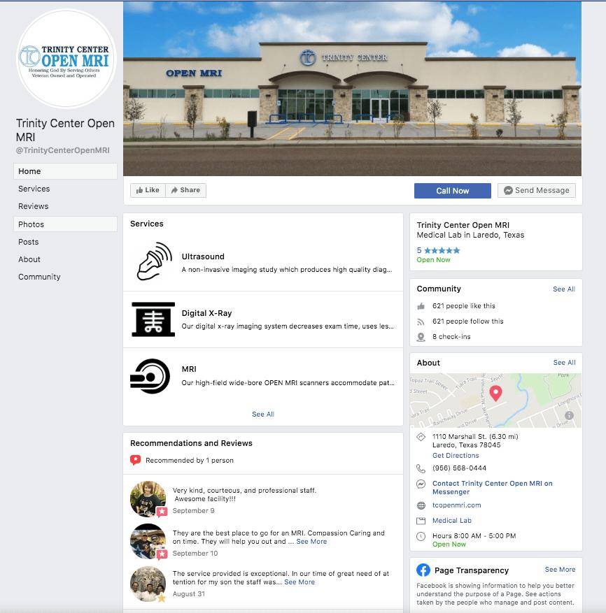 Trinity MRI Social Media
