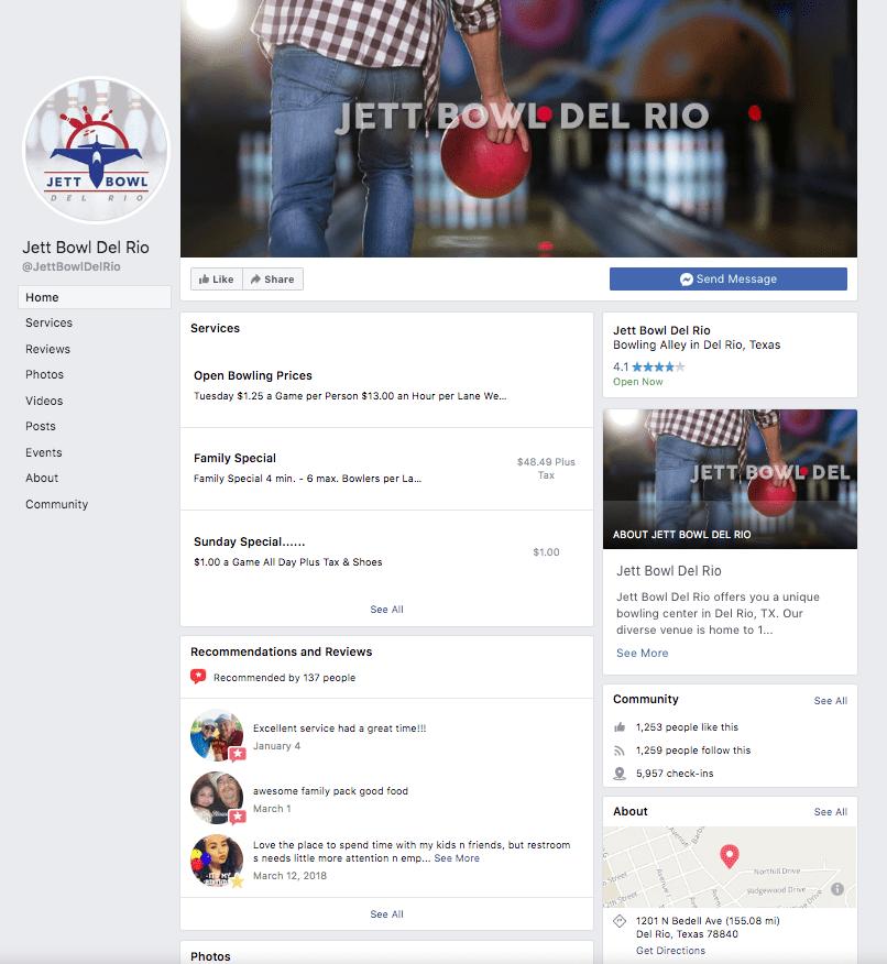 Jett Bowl Del Rio Social Media
