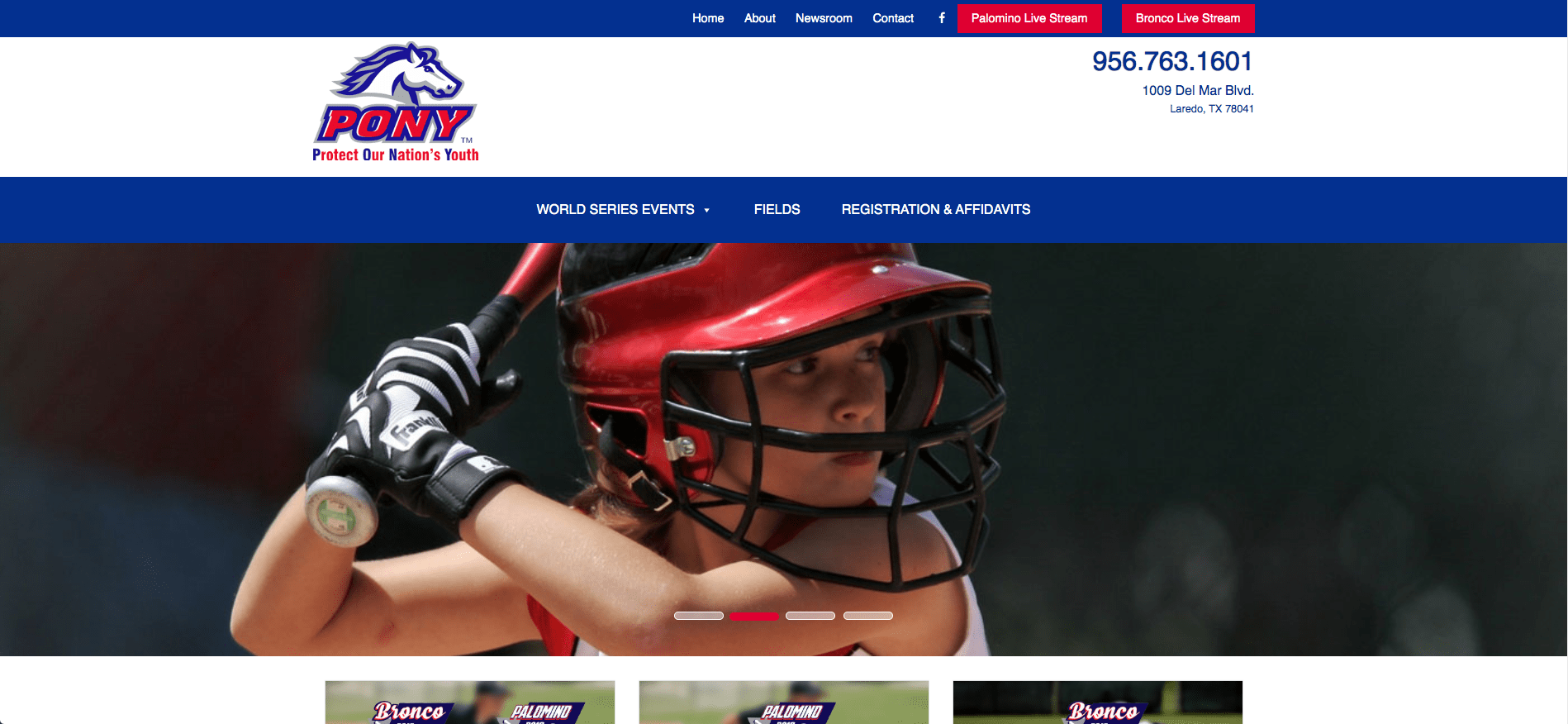 Pony League Website