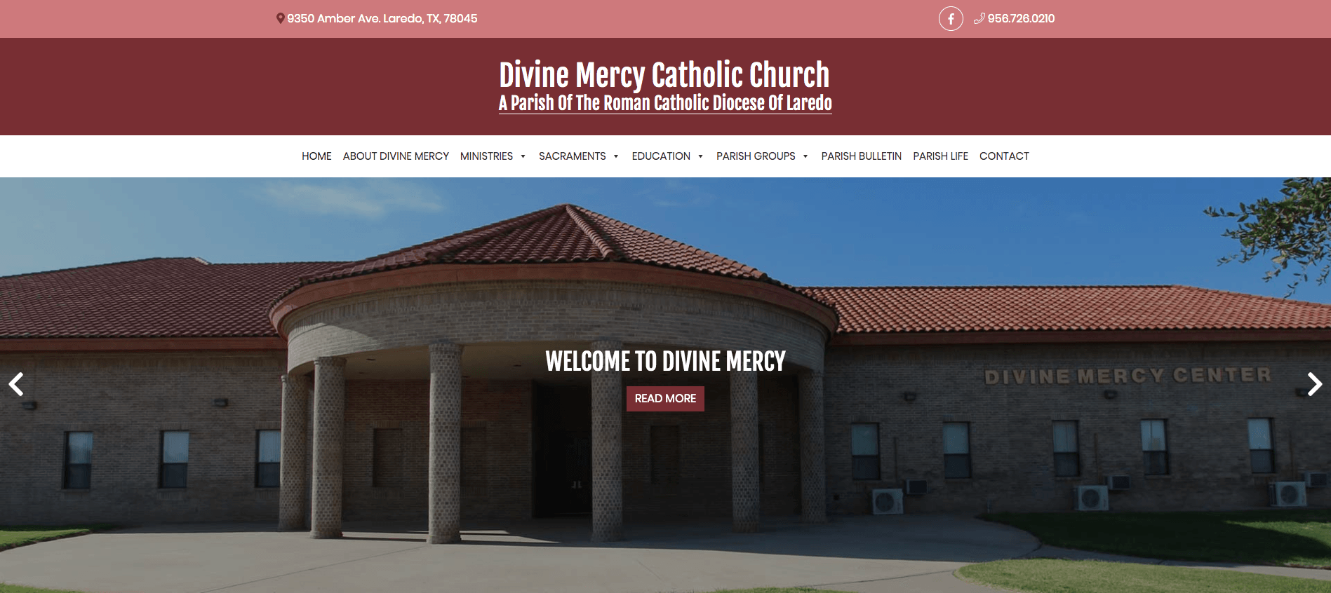 Devine Mercy Website